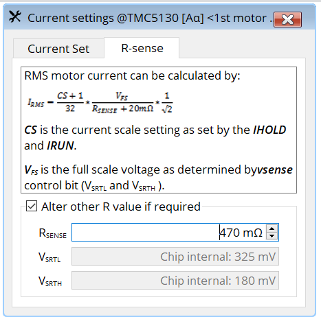 TMC5130的静音功能Stealthchop的调试方法