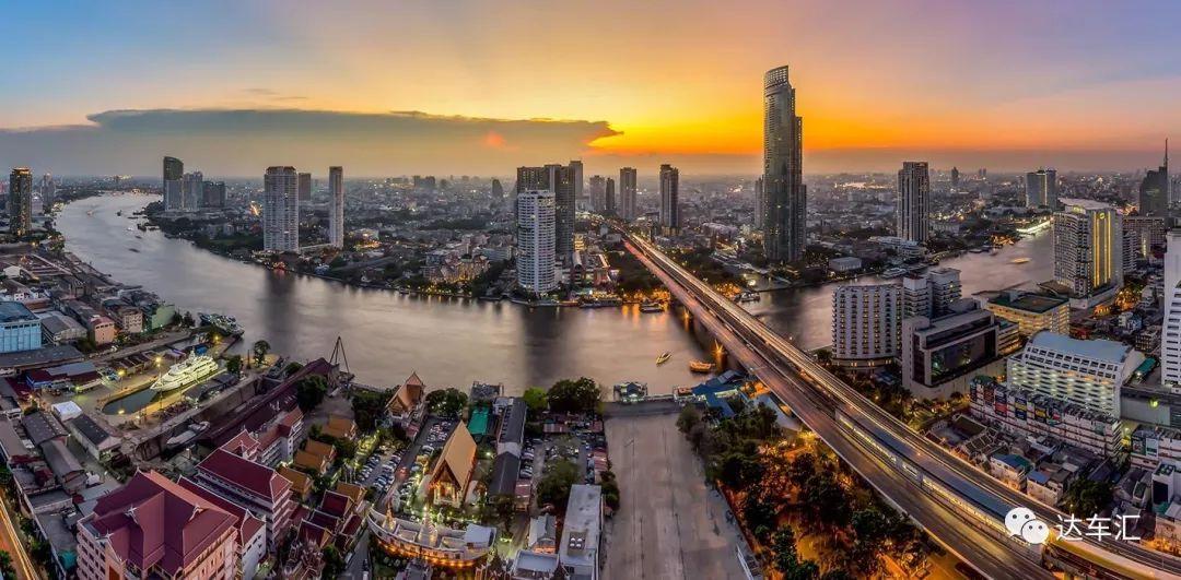 在泰国除了日系车 还有让你眼花缭乱的泰国车牌