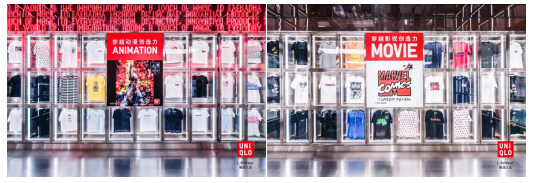 优衣库首次在旗舰店内举行新品展览,揭开春夏新品的更多故事