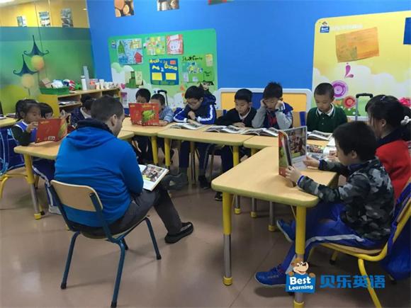贝乐学科英语深圳天利名城中心 三步阅读法培养孩子读书好习惯