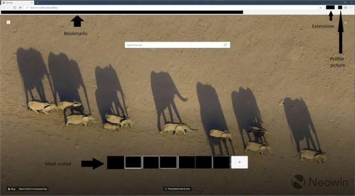 基于Chromium的新版Edge截图曝光:扩展更丰富的照片 - 6