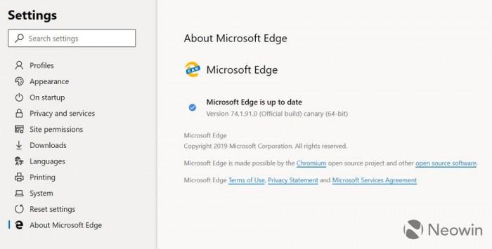 基于Chromium的新版Edge截图曝光:扩展更丰富的照片 - 11