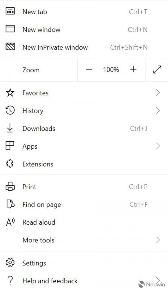 基于Chromium的新版Edge截图曝光:扩展更丰富的照片 - 9