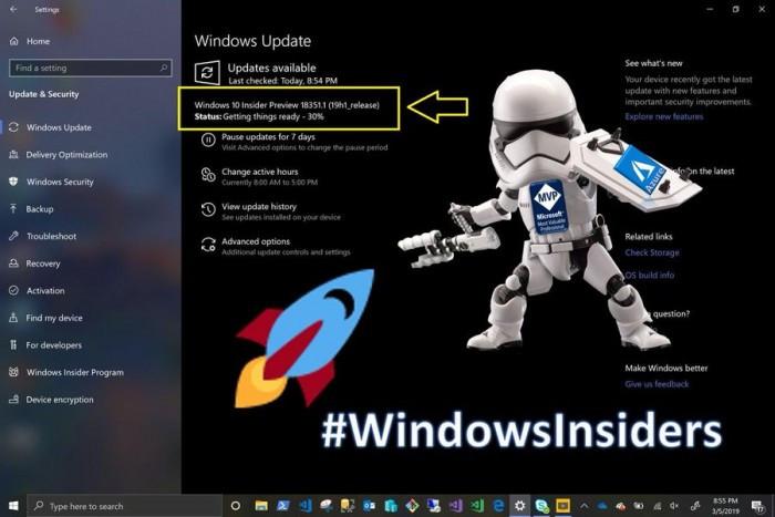 Win10 Build 18351发布:反作弊软件和创新声卡问题仍未修复的照片 - 2