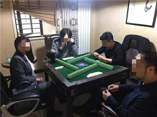 """郑州一""""茶社""""成聚众赌博窝点 17人""""喝茶""""被拘留"""