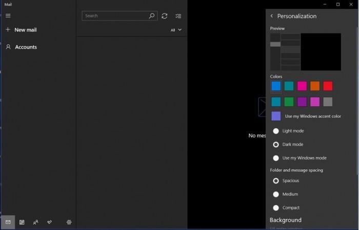 微软面向所有Win10 Mail用户开放Dark主题的照片 - 9