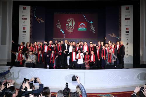 """澳门将连续第二年成为2019年度""""亚洲50最佳餐厅""""主办目的地"""