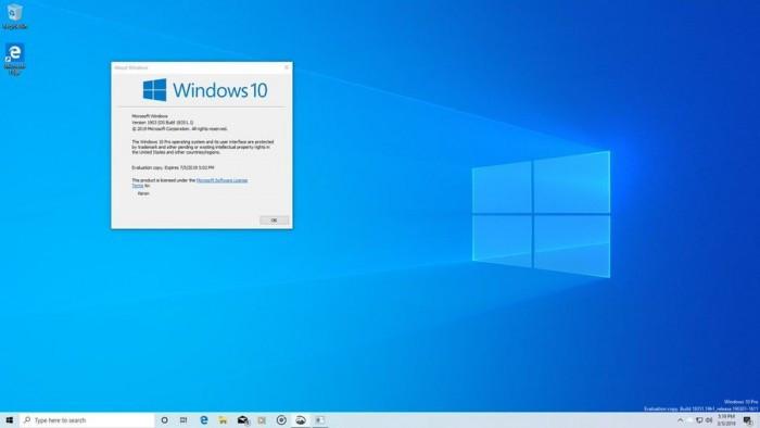 微软为Win10 1903发布ISO镜像 可全新安装18343版的照片