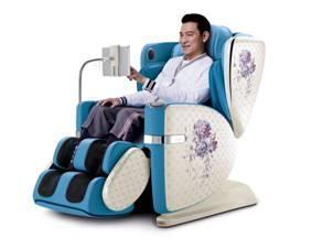 OSIM傲胜4手天王手绘花卉,定义按摩椅时尚新美学