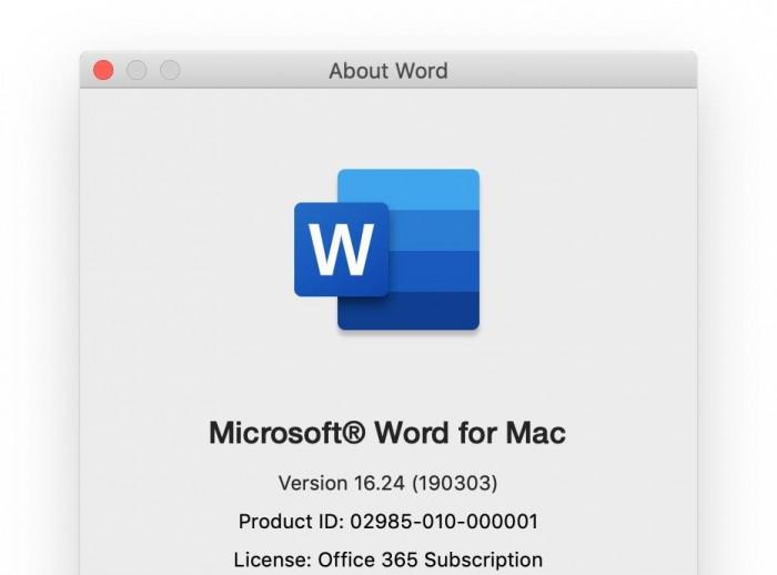Office for Mac最新预览版已启用新版图标的照片 - 2