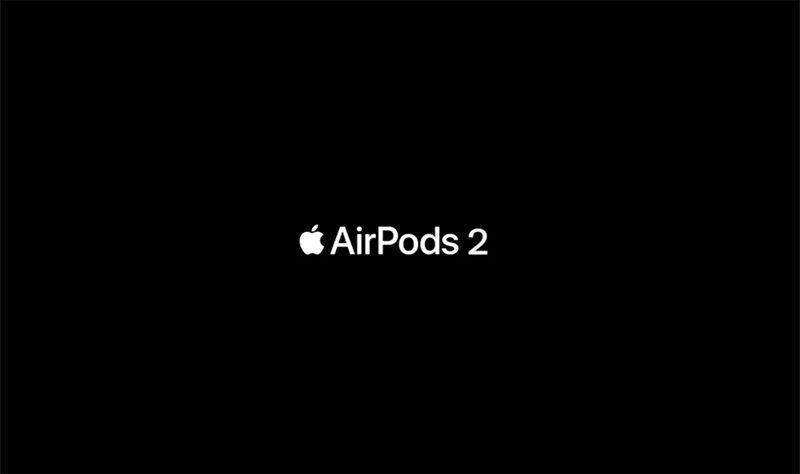 泄露的AirPods 2苹果广告揭示其与一代外观类似的照片 - 2