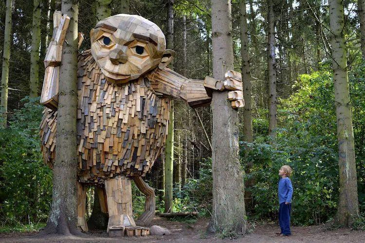 創意木頭景觀的神奇力量
