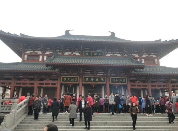 """陕西长安区清凉山举办""""二月二•龙抬头""""庙会"""
