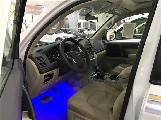 18款丰田酷路泽4000现车最低油耗是多少