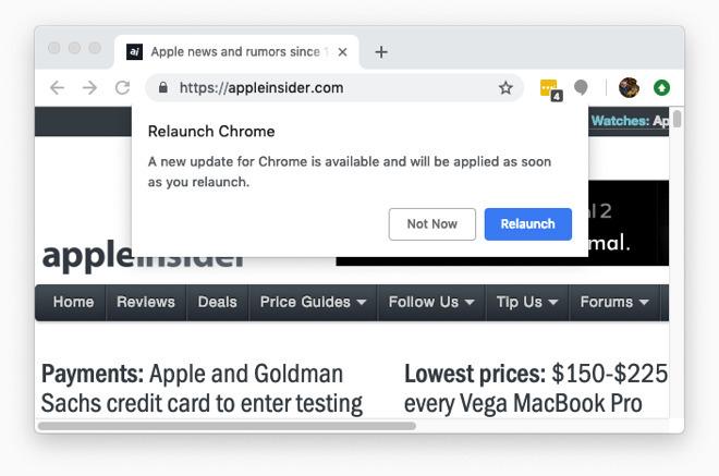 谷歌再次提醒用户应尽快升级Chrome到72.0.3626121的照片 - 3