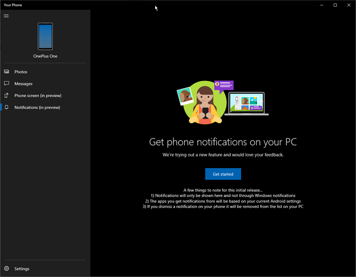 微软更新Your Phone应用 为Win10带来更强大的功能的照片 - 4