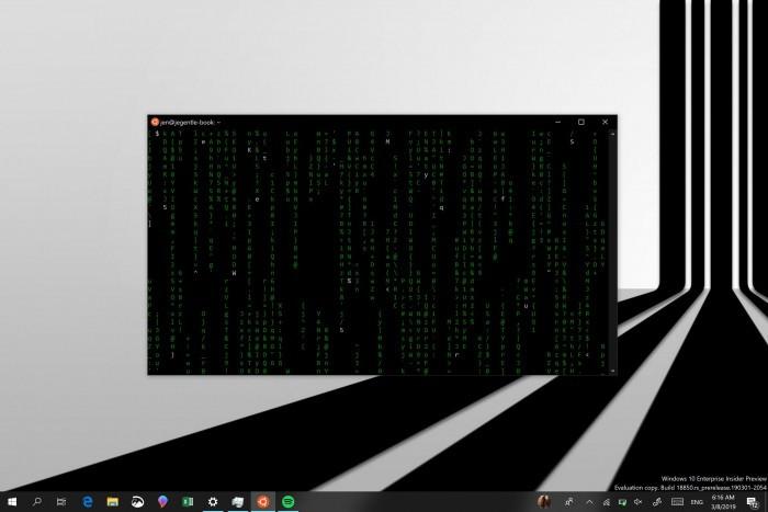 Win10 20H1的命令提示符窗口引入全黑设计的照片 - 2