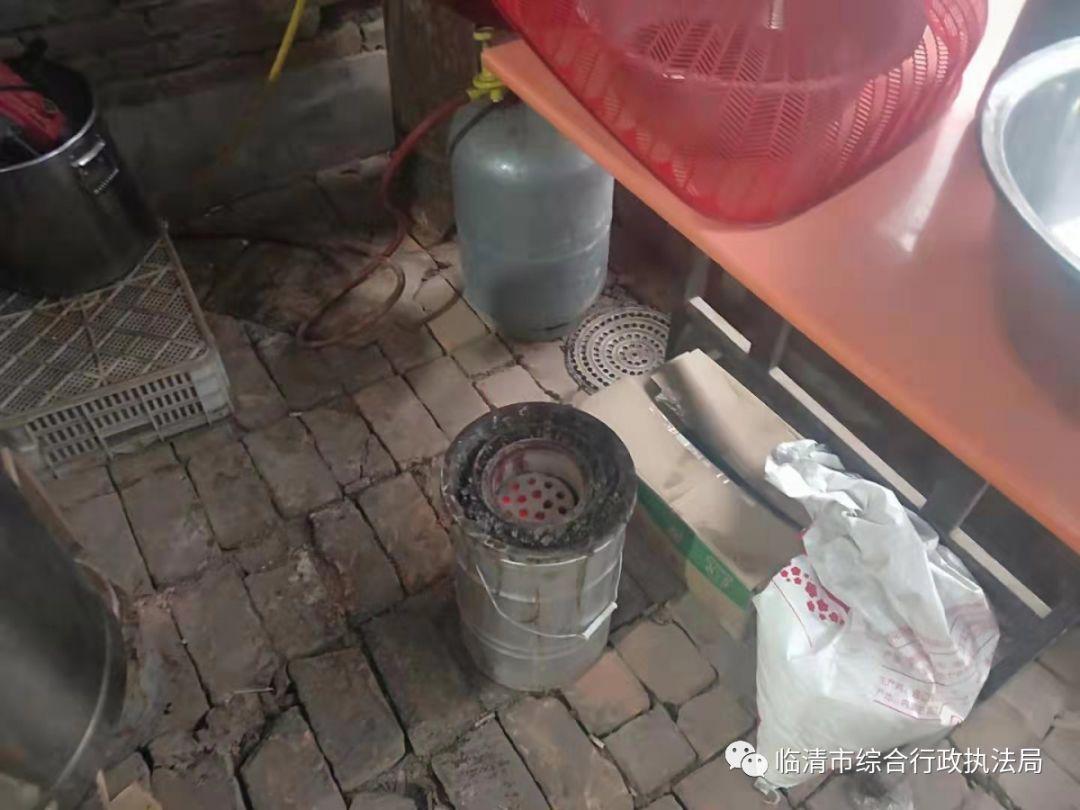 臨清一早餐店違規使用散煤作為燃料被處罰_綜合