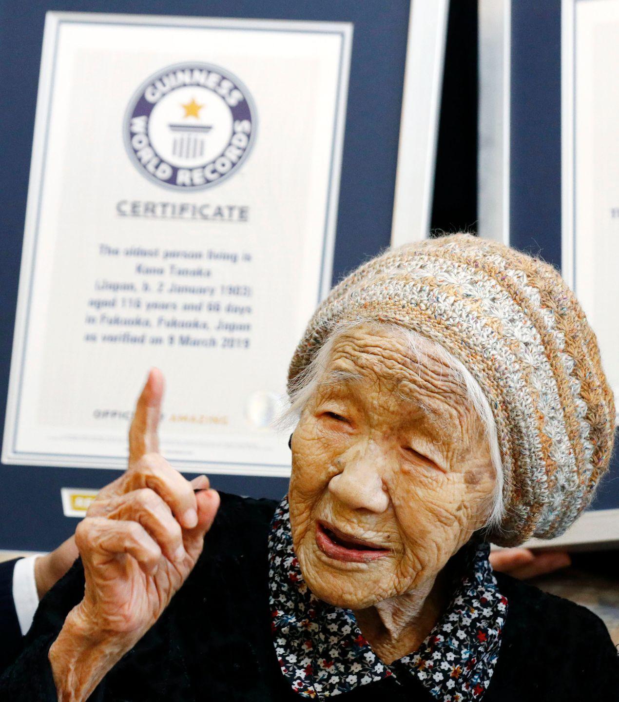 116岁,这个老奶奶目前世界上最长寿,超爱数学、下黑白棋(转载)