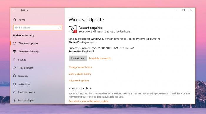 微软公布Windows Update服务在一月份发生中断的细节的照片