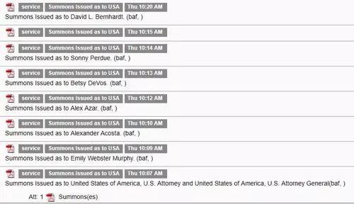 华为起诉最新进展 法院已给美国政府发传票的照片 - 3