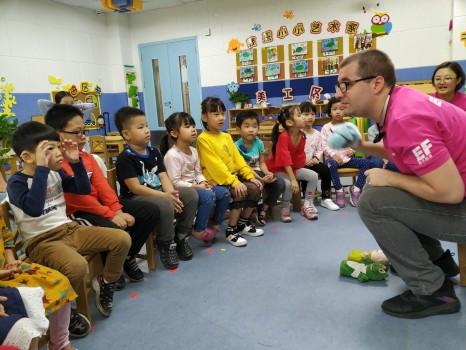 英孚教育呼吁关注听力健康,关爱听障儿童
