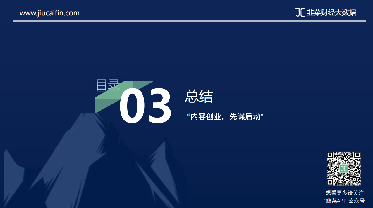 韭菜财经大数据:《2019年内容创业市场报告》插图20