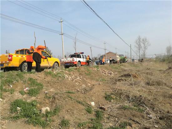 响水县公路站:全面开展春季公路绿化养护工作