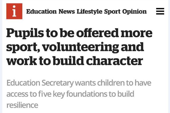 侨外英国投资移民:听教育部长解析未来英国需要什么样的孩子