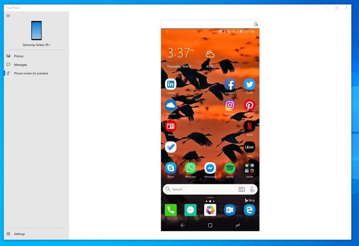 Win10 Build 18356预览版带来了桌面Android应用支持的照片 - 1