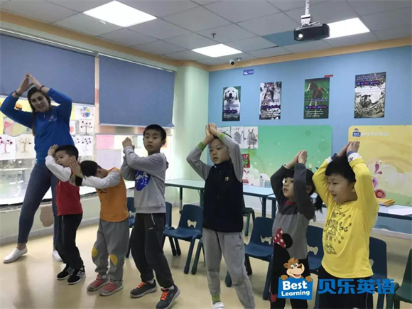 贝乐英语深圳百花中心践行TPR教学法 提高学习效率
