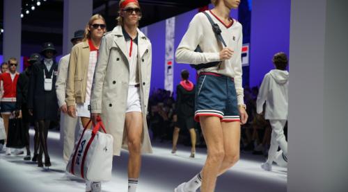 现代风格融合复古潮流 FILA发布米兰时装周复刻款