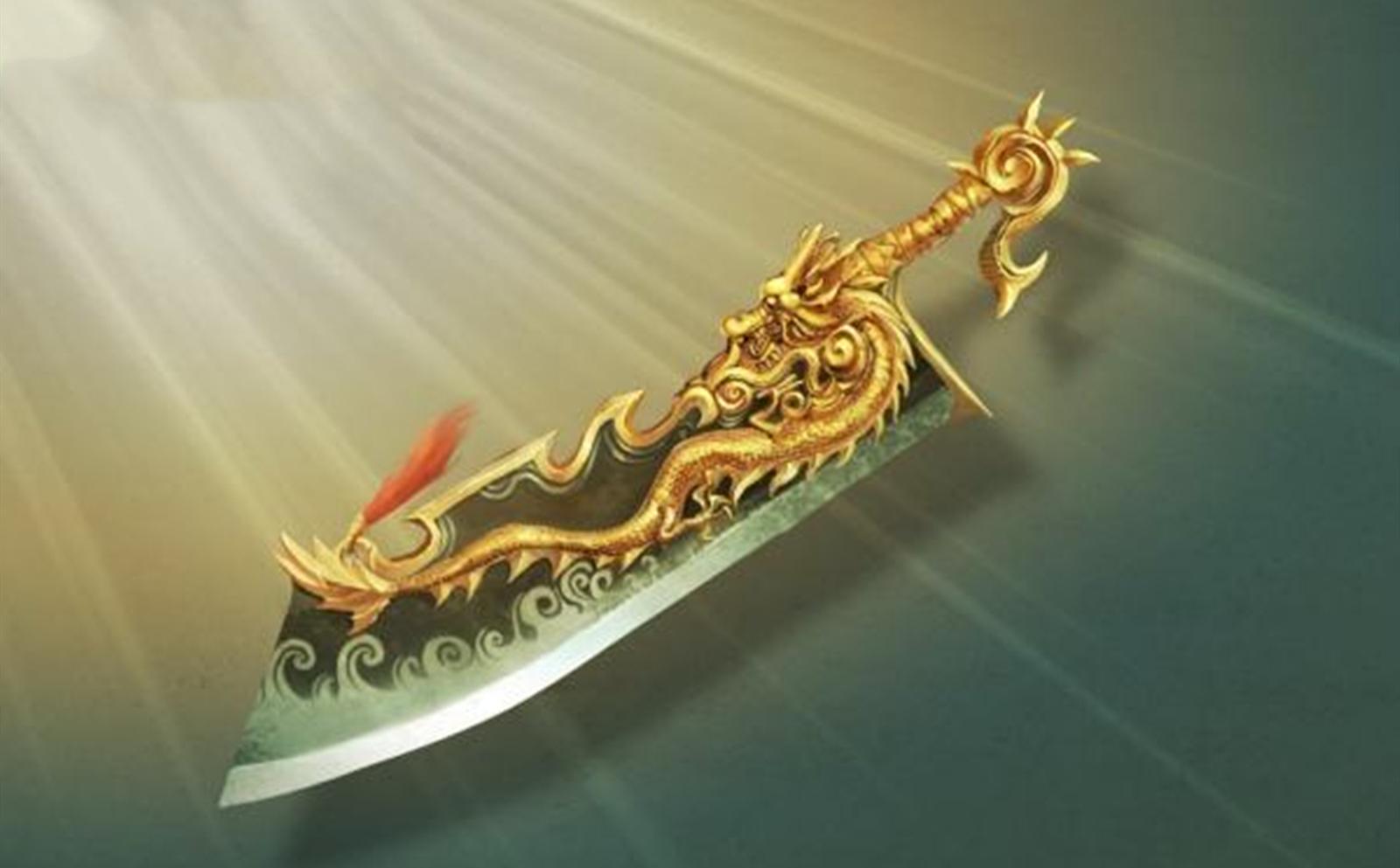 屠龙刀爆了动态图_《传奇》当年最稀有的武器,有玩家开出十几万的天价都买不到 ...