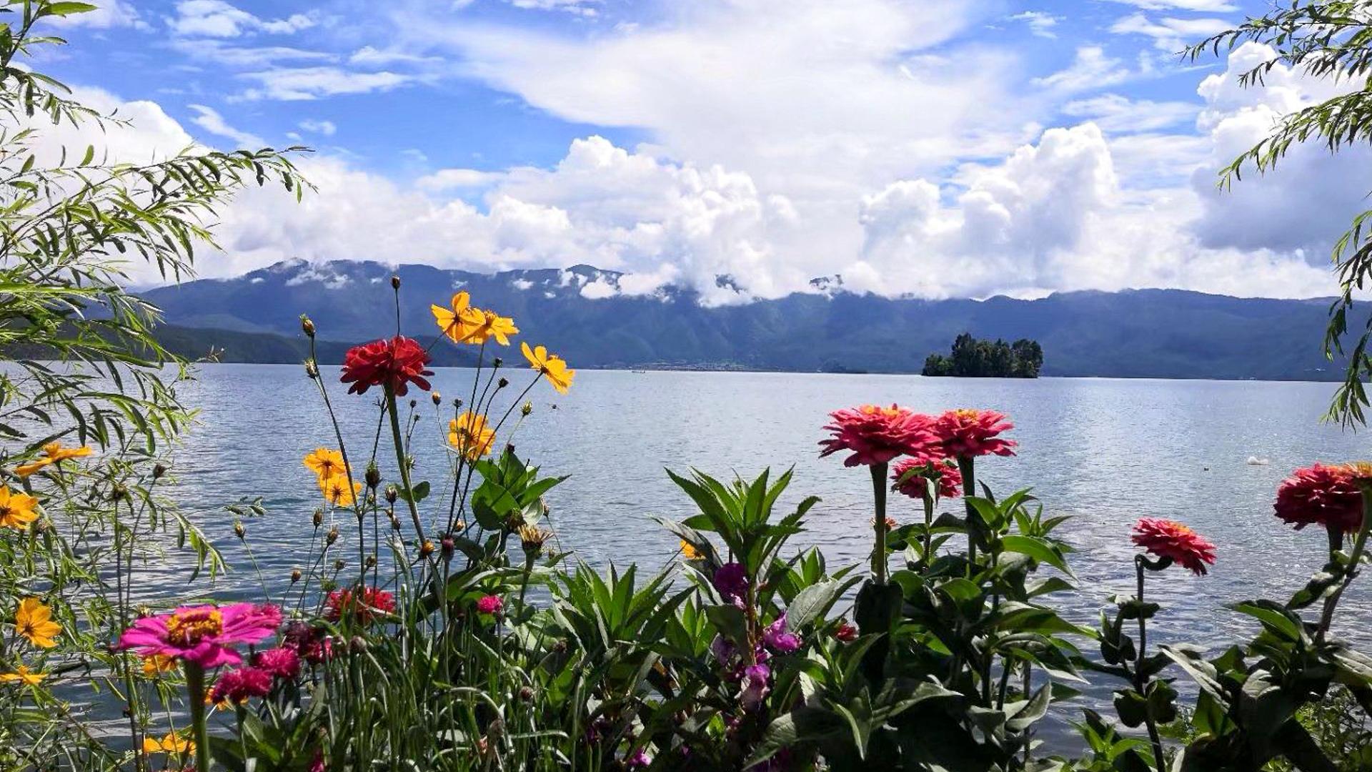 如果你准备去踏青,一定要到这两个湖看看,简直不要太惬意