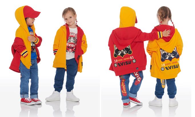 日系潮童演绎新一季街头时尚-EVISU发布2019春夏KIZZU童装系列