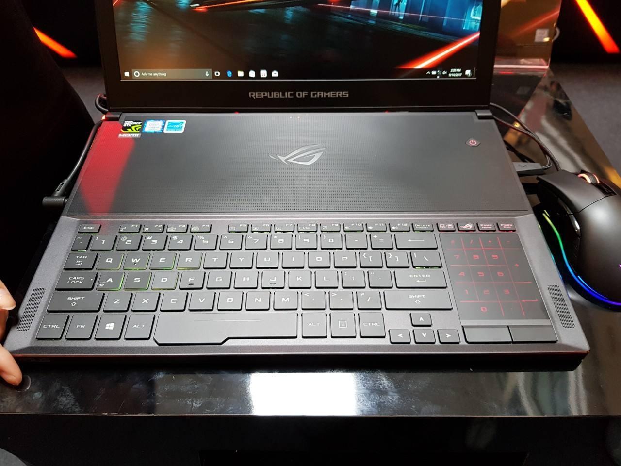 冰刃系列ROG Zephyrus S GX531竞技笔记本