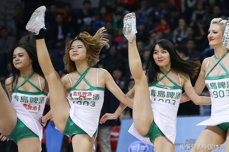 16/17赛季CBA常规赛第29轮 篮球宝贝扮靓东莞赛区