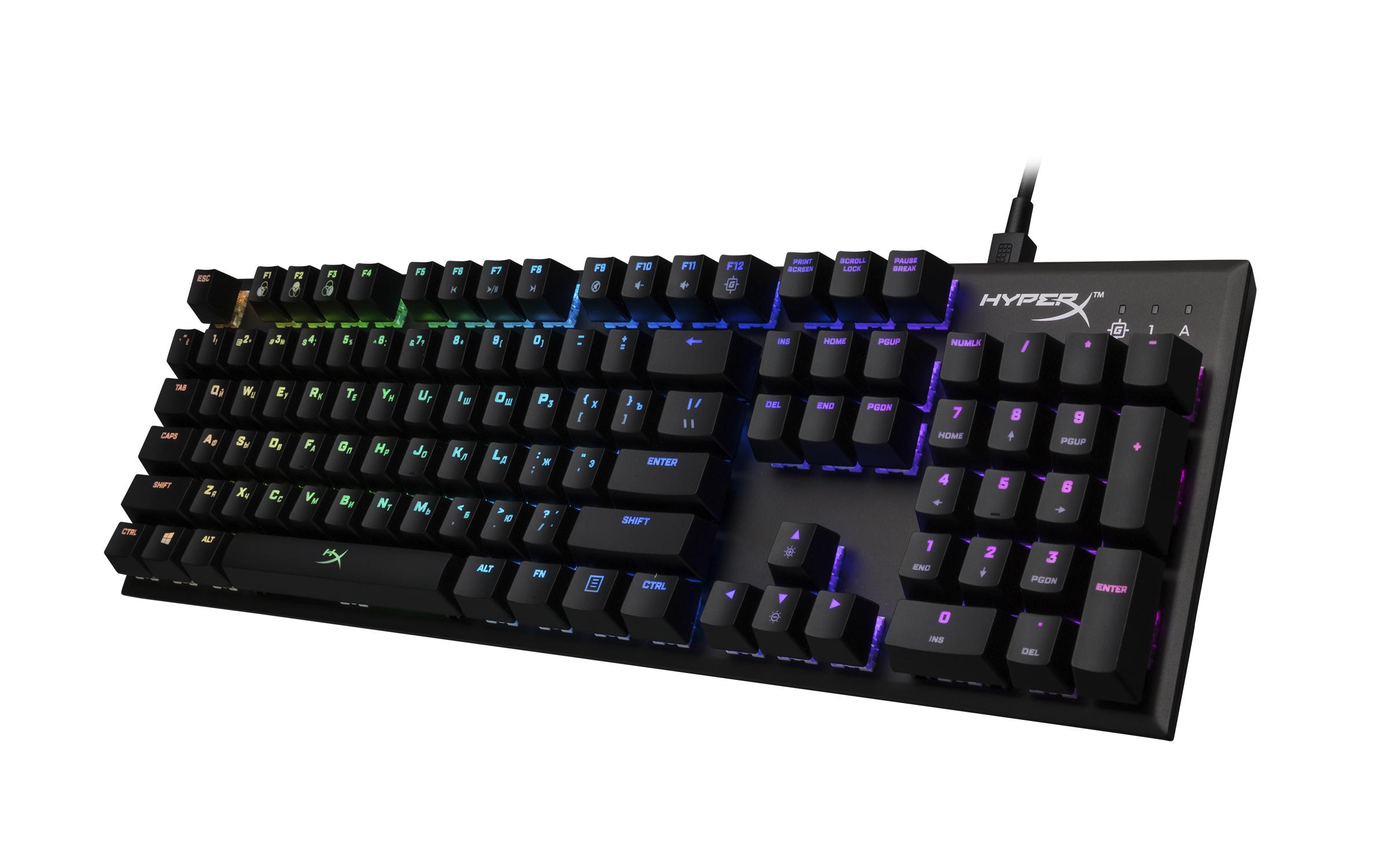盘它!HyperX Alloy FPS RGB电竞机械键盘