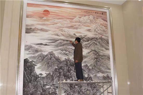2019中国书画形象大使:冯聚成