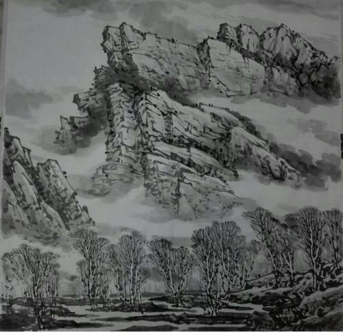 远山的呼唤――专访知名国画家冯和田
