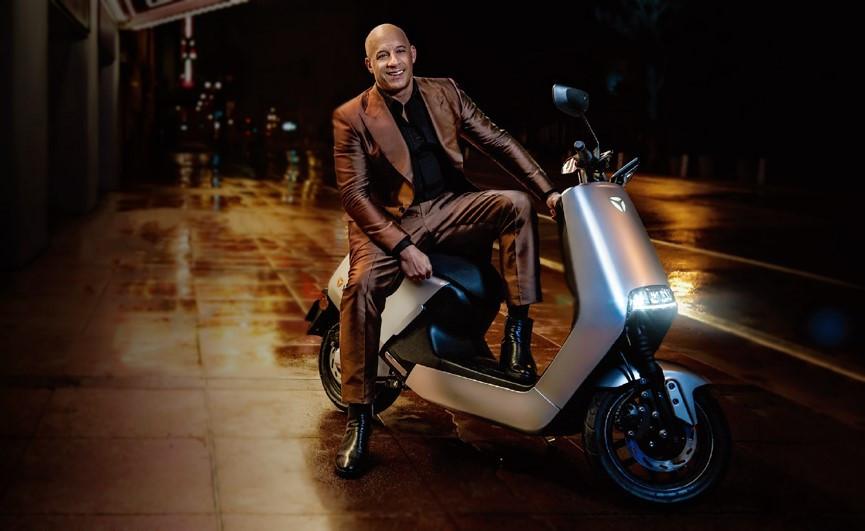 雅迪牵手范迪塞尔,上演国际电动车市场的速度与激情?