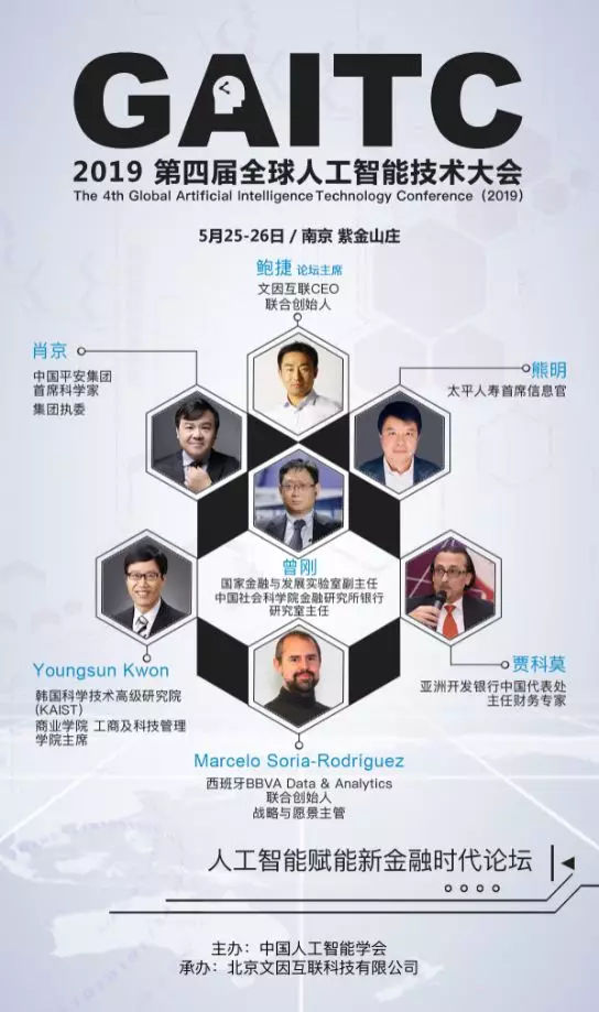 "2019 GAITC 丨金融生态或将被""智能+""重塑"