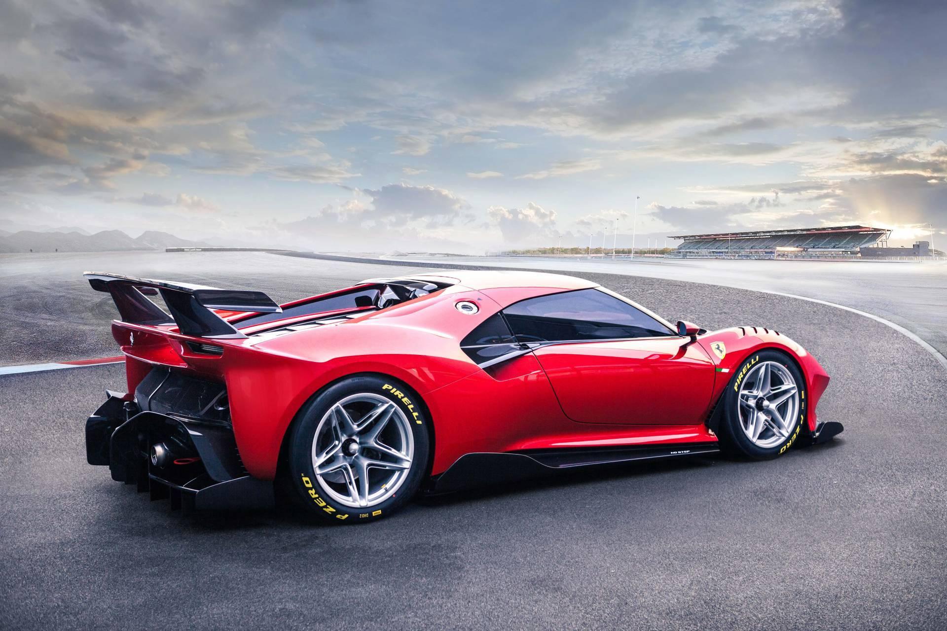 有钱任性 基于488 GT3法拉利研发 定制赛道超级
