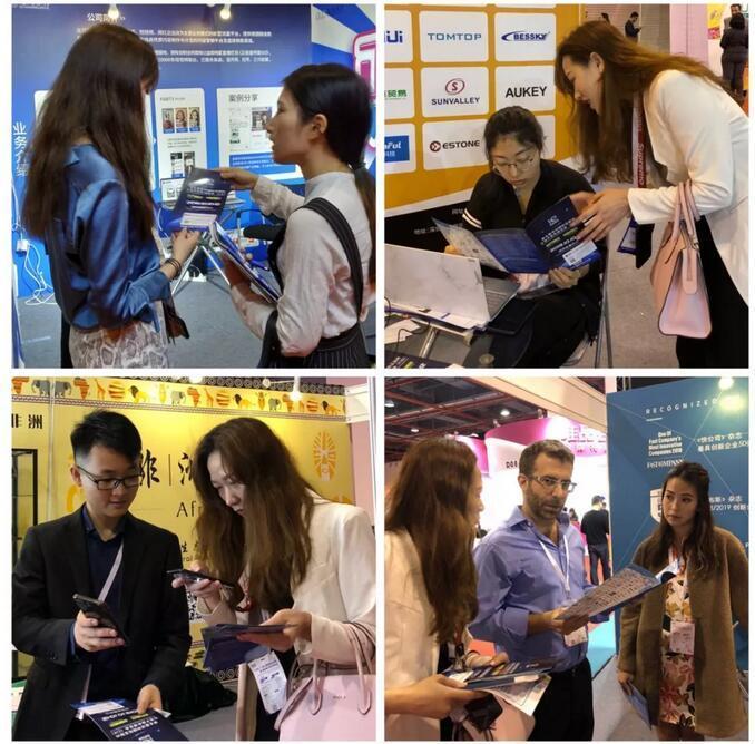 CIE展会宣传推广在广州电商展正火热进行中