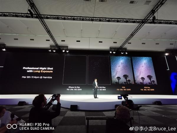 P30 Pro夜拍样张碾压苹果三星引争议 华为:任何人就能拍出的照片 - 6