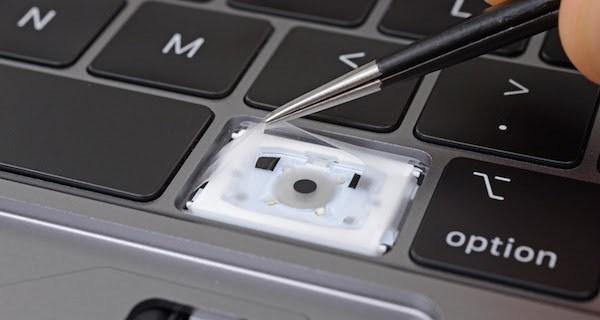 部分用户发现第三代MacBook键盘依然存在问题 苹果致歉的照片 - 2