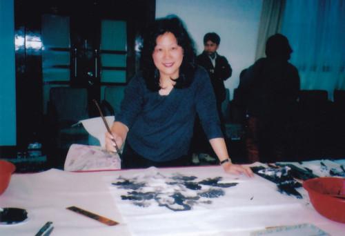 清雅的诗意——何月群的中国画