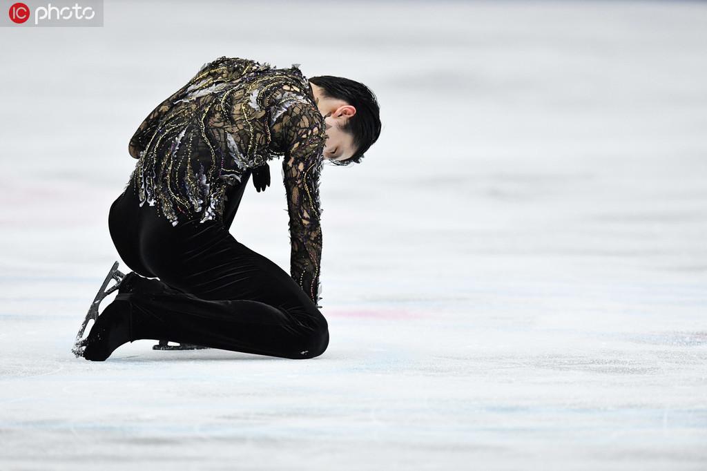 日本滑联公布羽生结弦伤情 右脚疼痛将缺席2