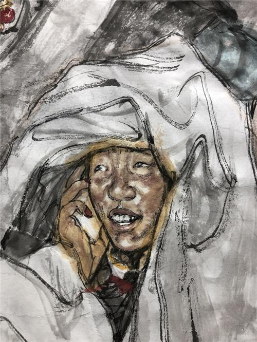 当代人物画名家杨季艺术探索
