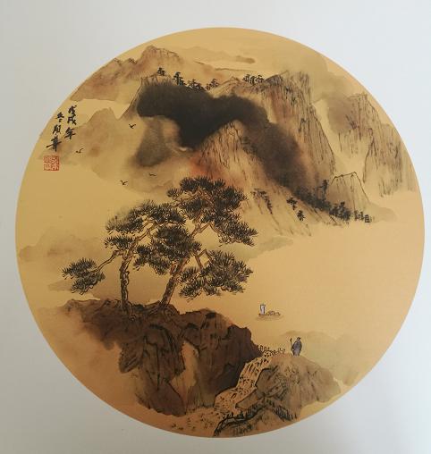 意不尽网专访:青年书画名家叶朋华先生
